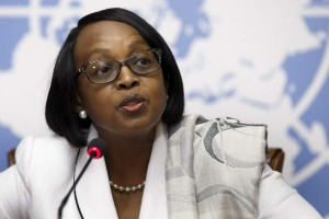 Dr. Matshidiso Moeti WHO Regional Director for Africa.