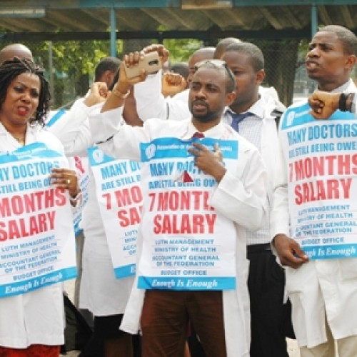 FG sacks striking resident doctors