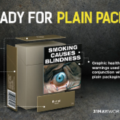 World No Tobacco day: Introduce plain packaging