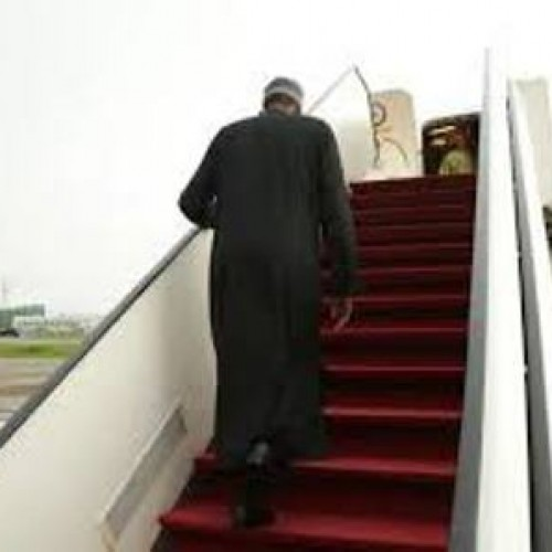 Buhari goes to London for ear infection treatment