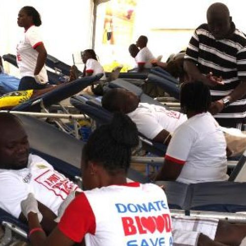 Radio station, bank lead blood donation campaign in Ghana