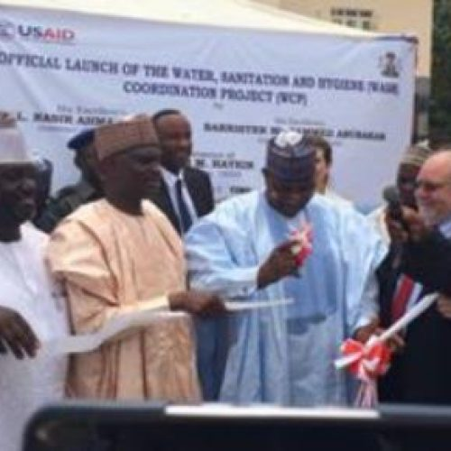U.S. Government Launches $2.5 million Water and Sanitation Project for Kaduna and Bauchi States
