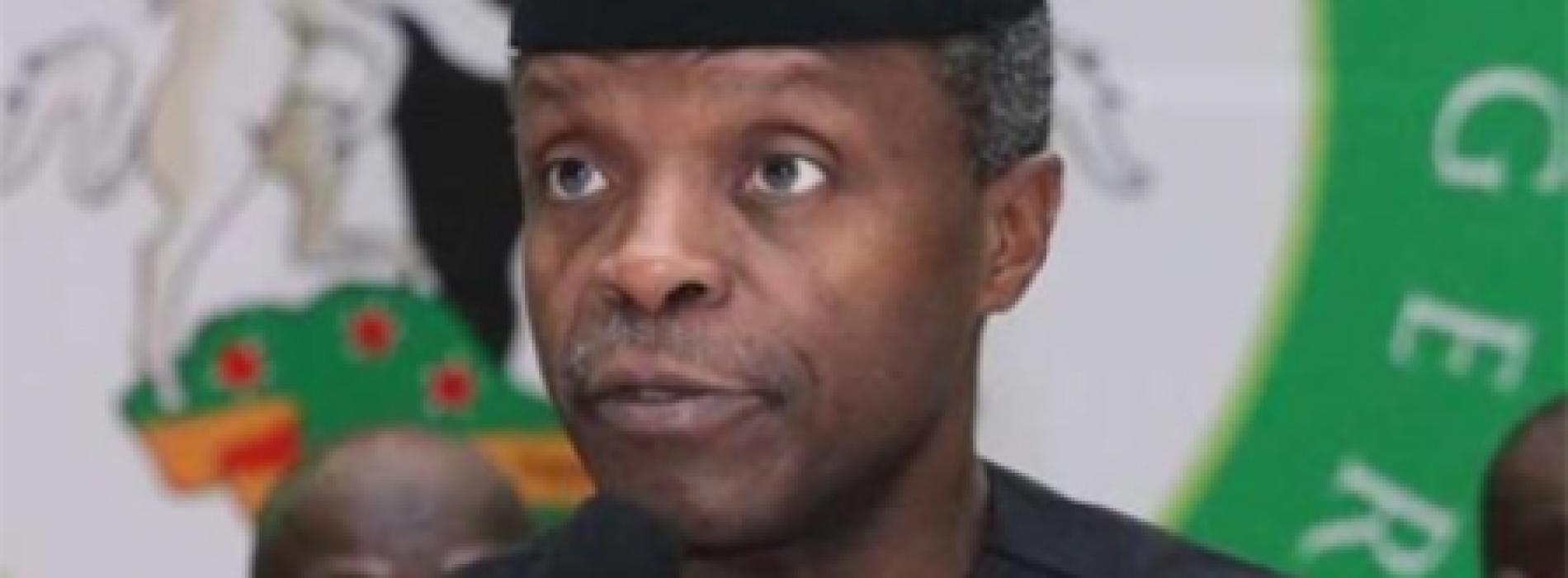 Nigeria's high fertility rate a problem – Osinbajo