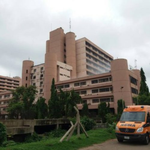 Breaking: Health Ministry on fire