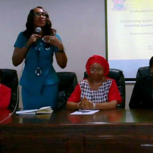 TBAs, others urged to promote exclusive breastfeeding