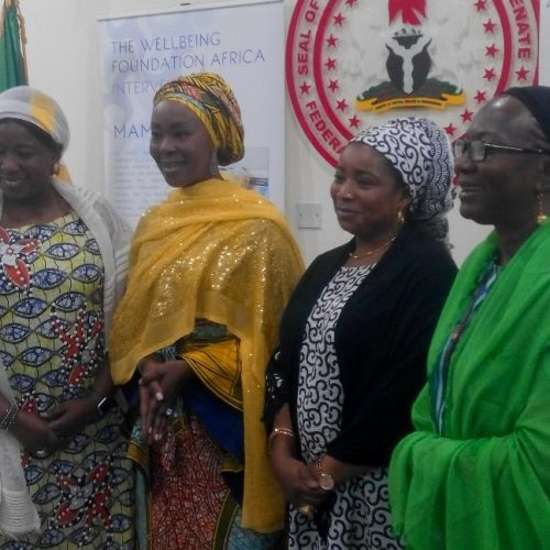 UNFPA lauds Mrs Saraki's commitment to mothers, children's health in Nigeria