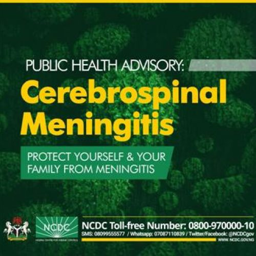 NCDC issues advisory on Cerebrospinal Meningitis